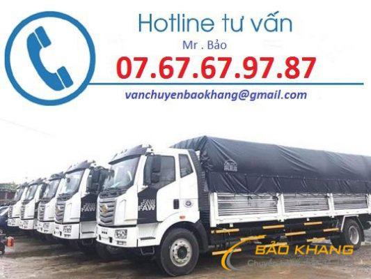 Vận chuyển hàng từ Gia Lai đi Lào
