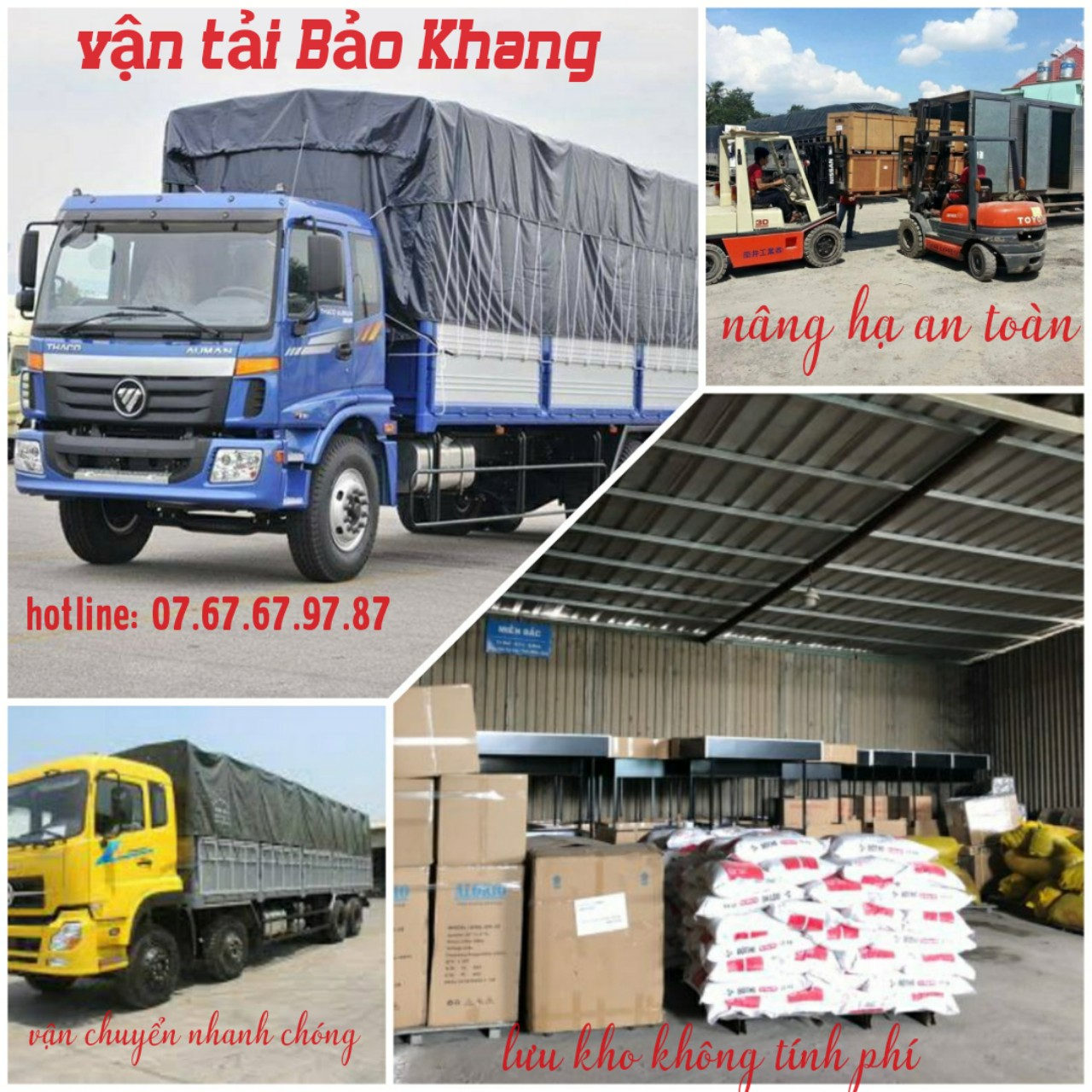 Công ty vận tải hàng hóa