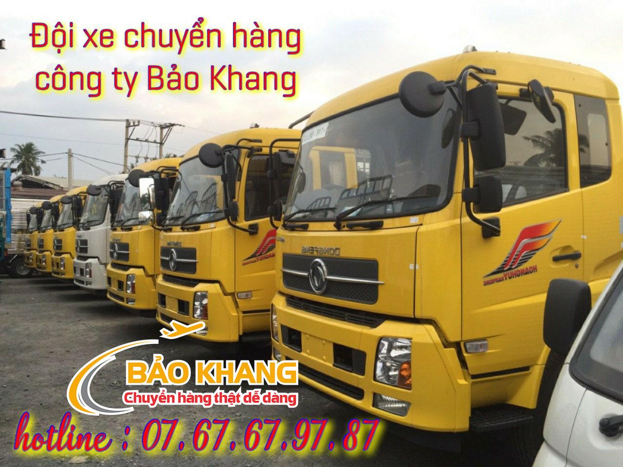 Gởi hàng từ Kon Tum về Bình Định