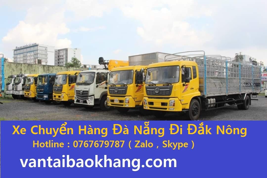 Chuyển Hàng hóa từ Đà Nẵng đi Đắk Nông