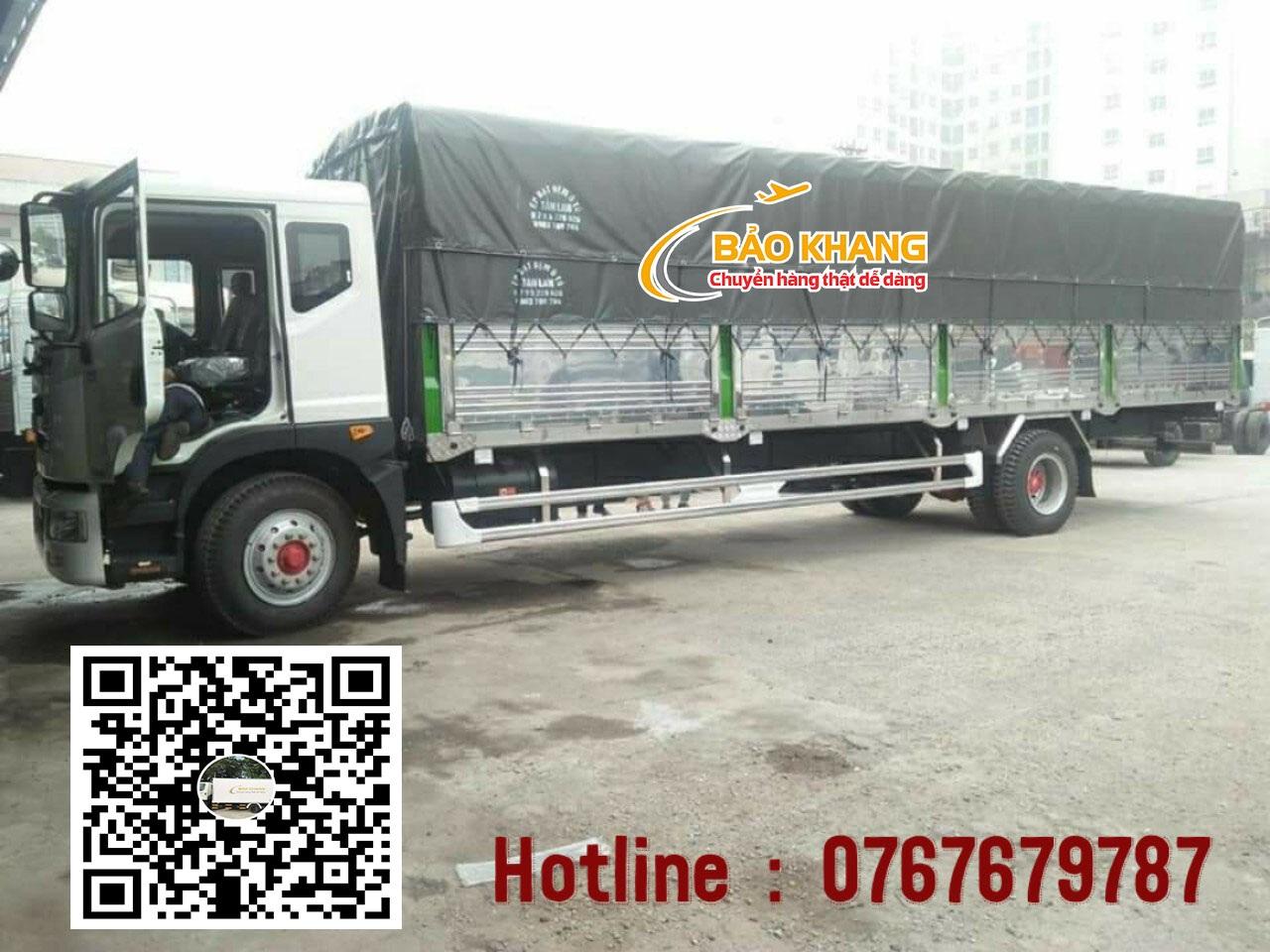 Xe chuyển hàng Sài Gòn Quảng Ngãi
