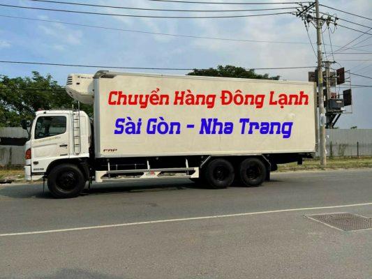 Ghép hàng đông lạnh Sài Gòn Nha Trang