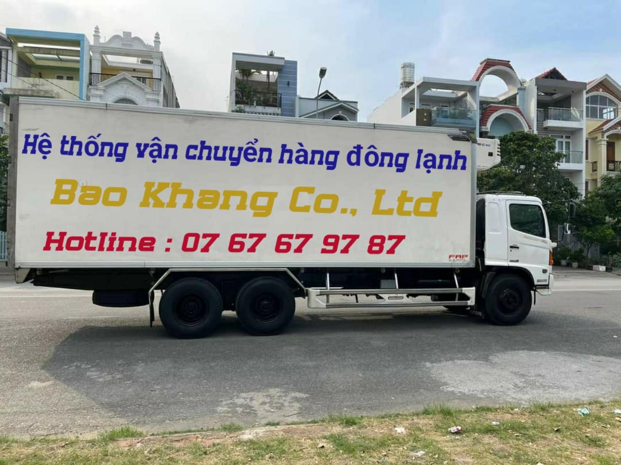 chuyển hàng đông lạnh Sài Gòn Nha Trang