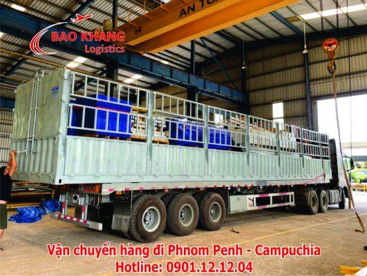 chuyển hàng đi Phnom Penh giá rẻ