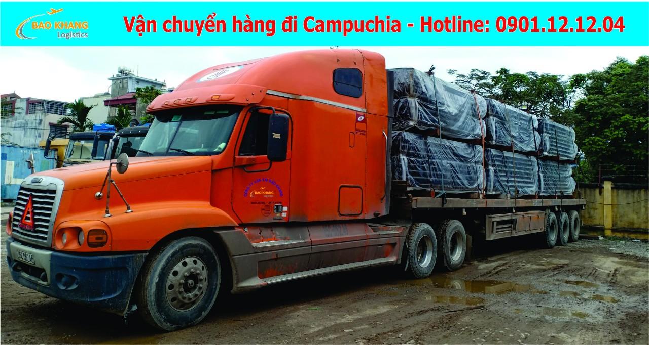 Chuyển hàng quá khổ quá tải đi Campuchia