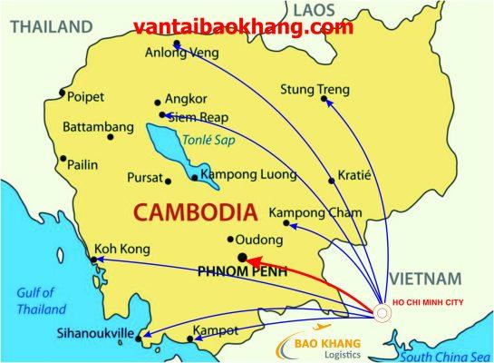 Chuyen hang Viet Nam di Cambodia